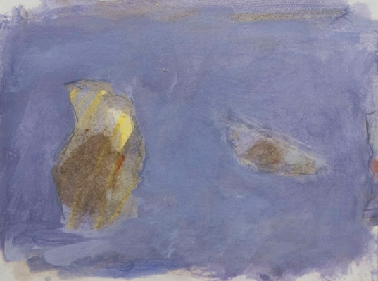 <em>Sketches of the Stones III 2009, acrylic on paper, 20 x 16cm</em>